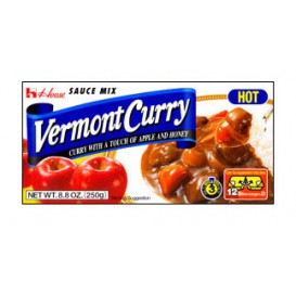 Curry Vermont picante